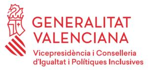 logo Generalitat Valenciana - Vicepresidència i Conselleria d'Igualtat i Polítiques Inclusives